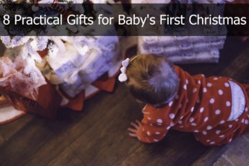 Practical gifts for baby's first Christmas