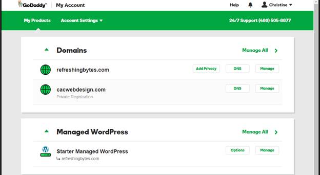 godaddy migrate files bluehost