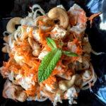 coconut cashew rice noodles